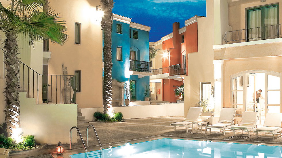 plaza spa family apartments crete