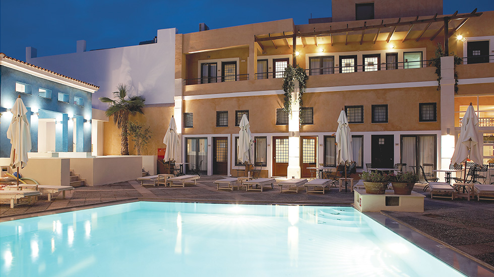 plaza spa apartments fountain rethymno crete